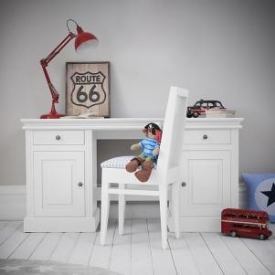 Archie Double Pedestal Desk