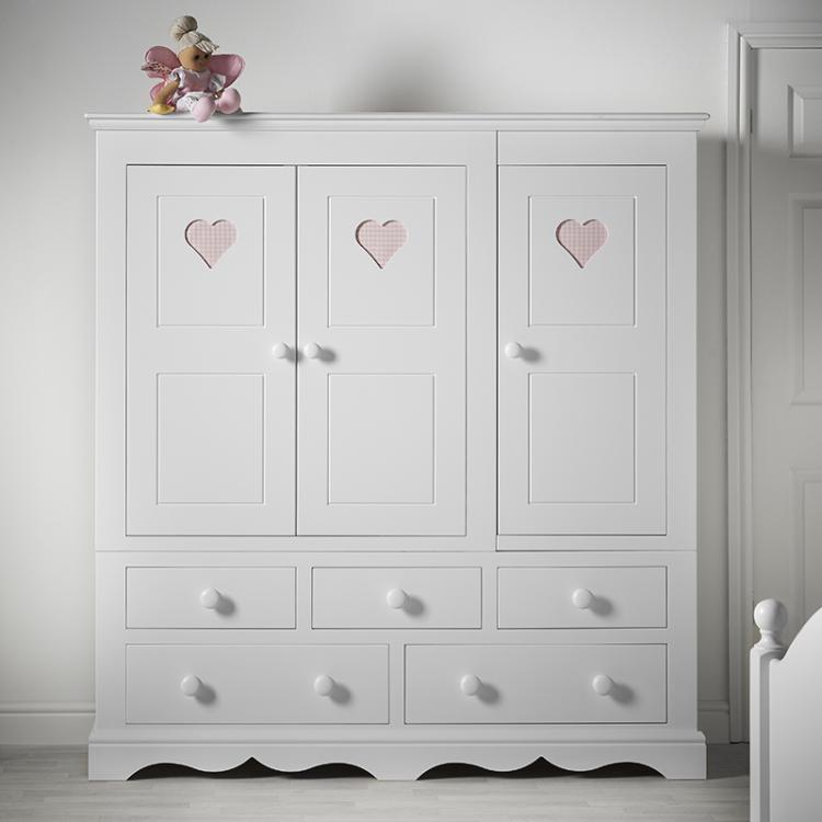 Looby Lou 3 Door Combination Wardrobe