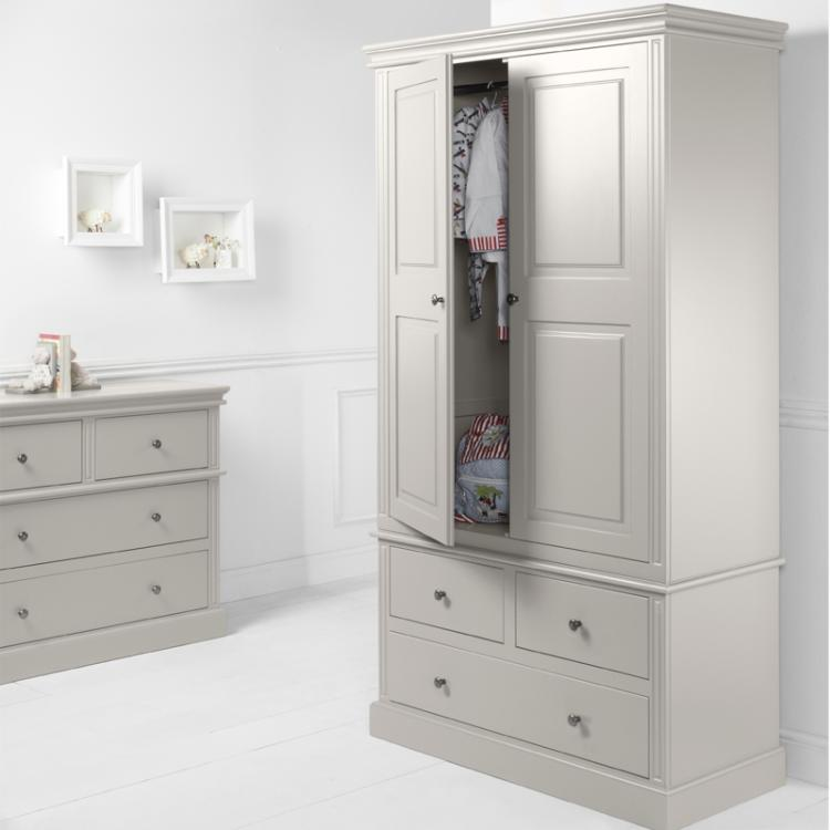 Archie 2 Door 3 Drawer Wardrobe