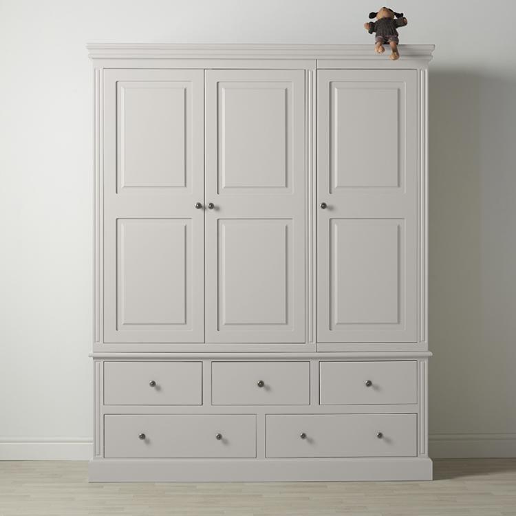 Archie 3 Door 5 Drawer Wardrobe