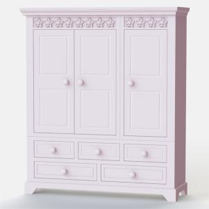 Daisy Brambles 3 Door Combination Wardrobe