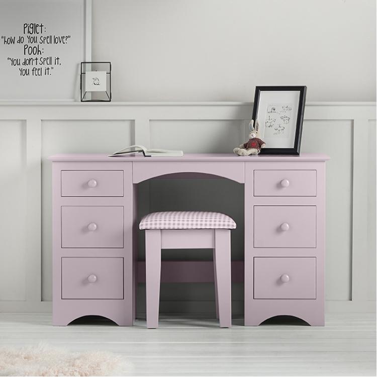 Barney and Boo Double Pedestal Desk