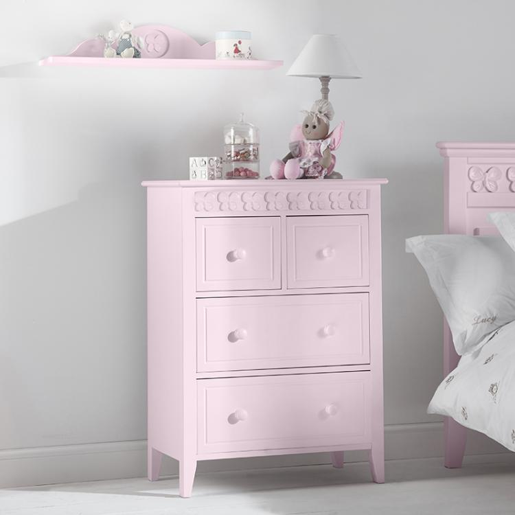 Florence Flutterby 2 Over 2 Chest of Drawers