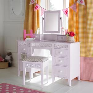 Florence Large Dressing Table and Mirror