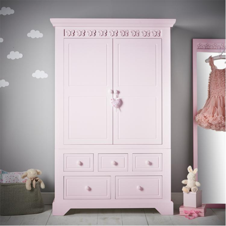 Florence Flutterby Combination Wardrobe