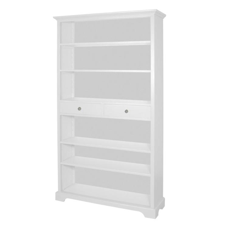 Archie Tall Bookcase in Ivory - FLASH SALE