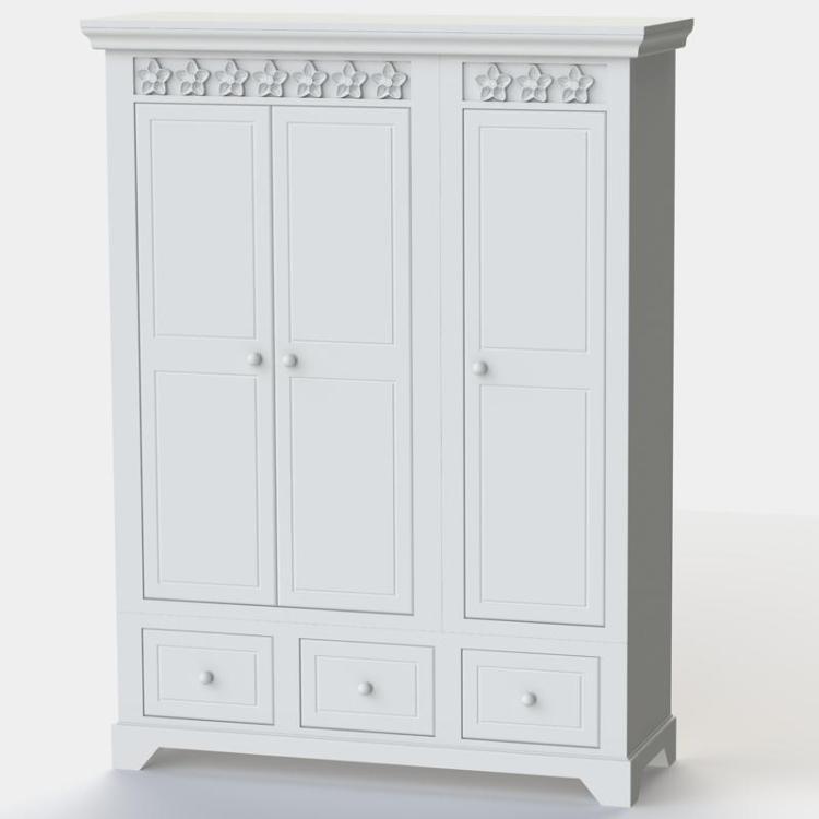 Daisy Brambles 3 Door Wardrobe