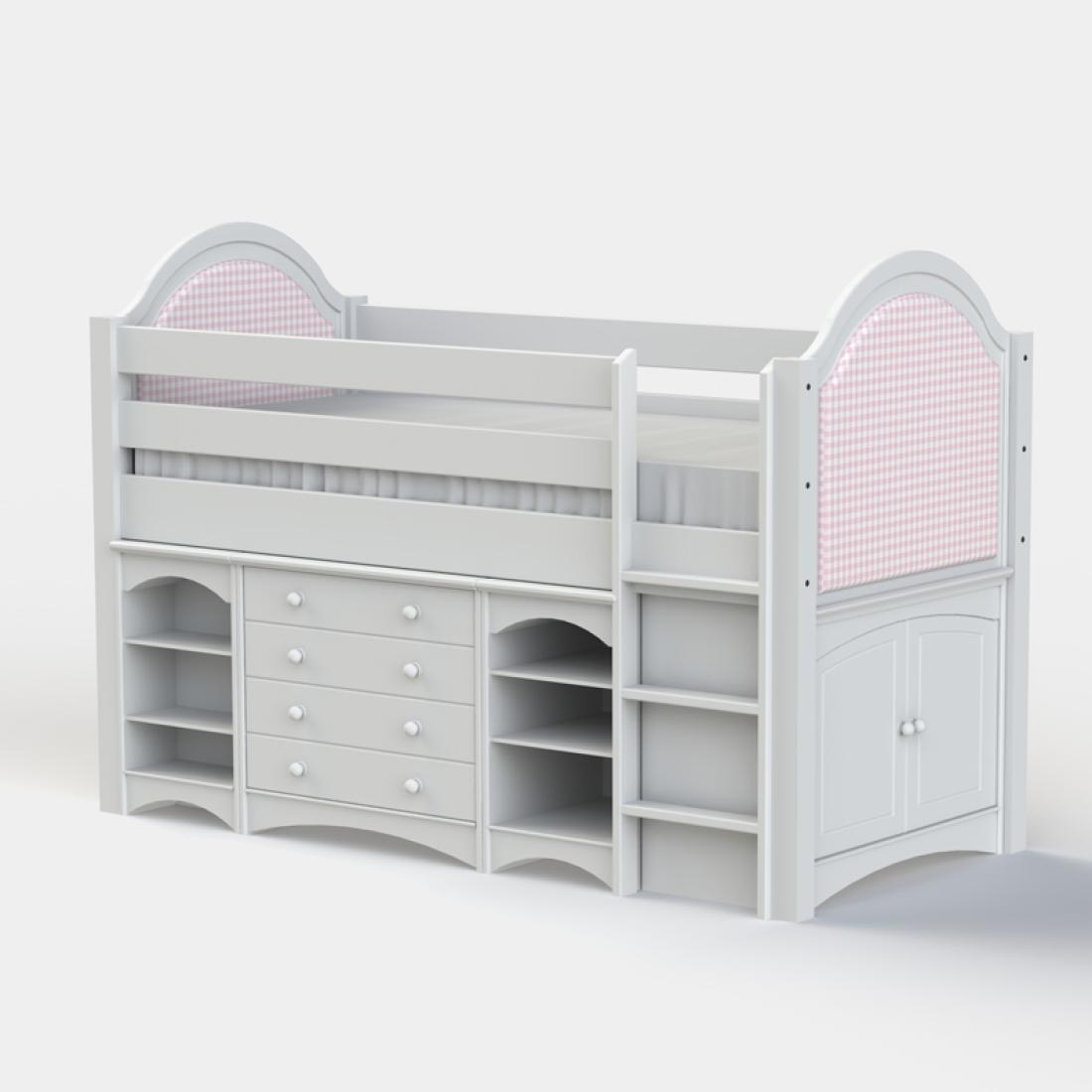 Picture of: Sammy Girls Cabin Bed Childrens Cabin Bed Kids Cabin Beds