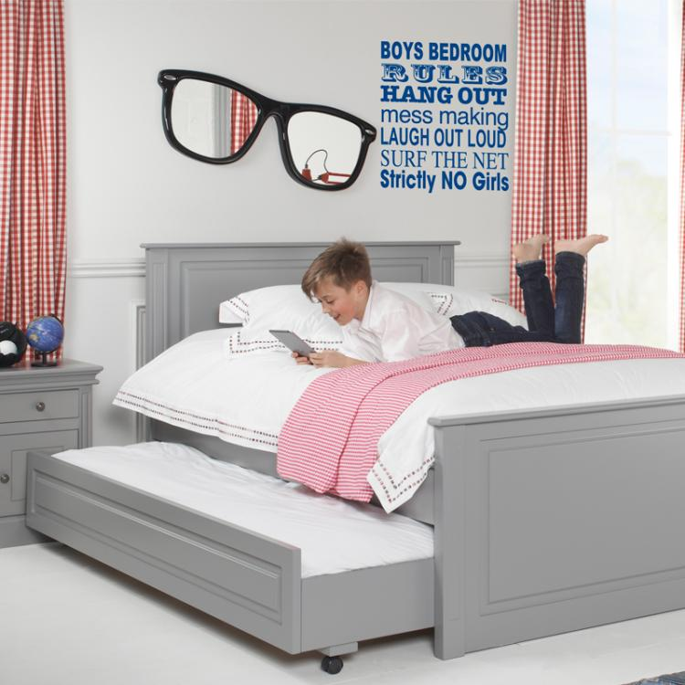 Archie Children S Truckle Bed Boys Beds Kids Bedrooms