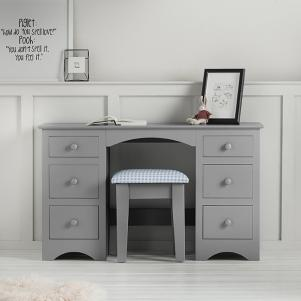 Barney and Boo Double Pedestal Desk