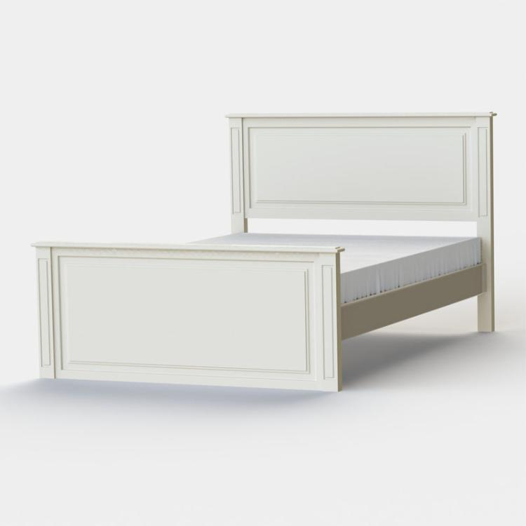 Archie Double High Foot End Bed