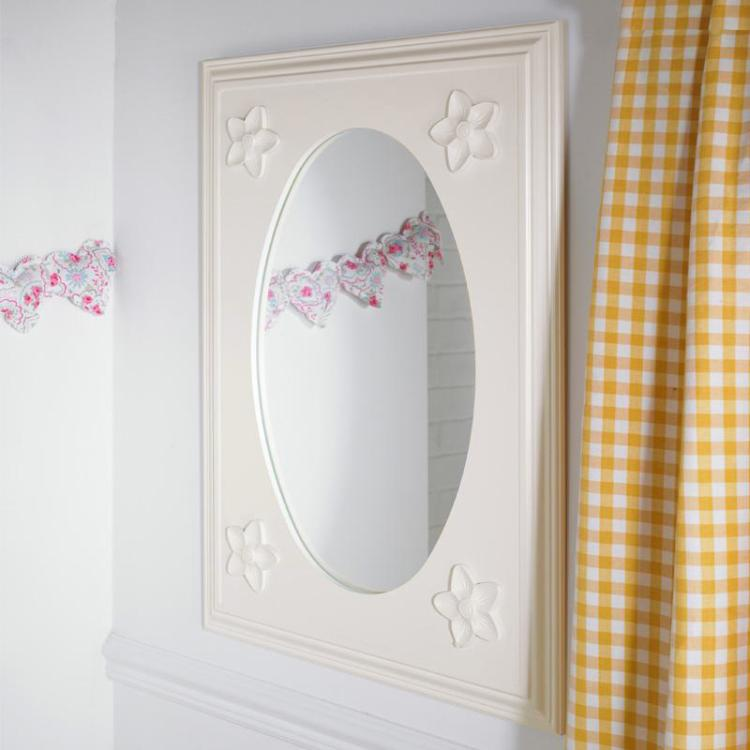 Daisy Childrens Wall Mirror