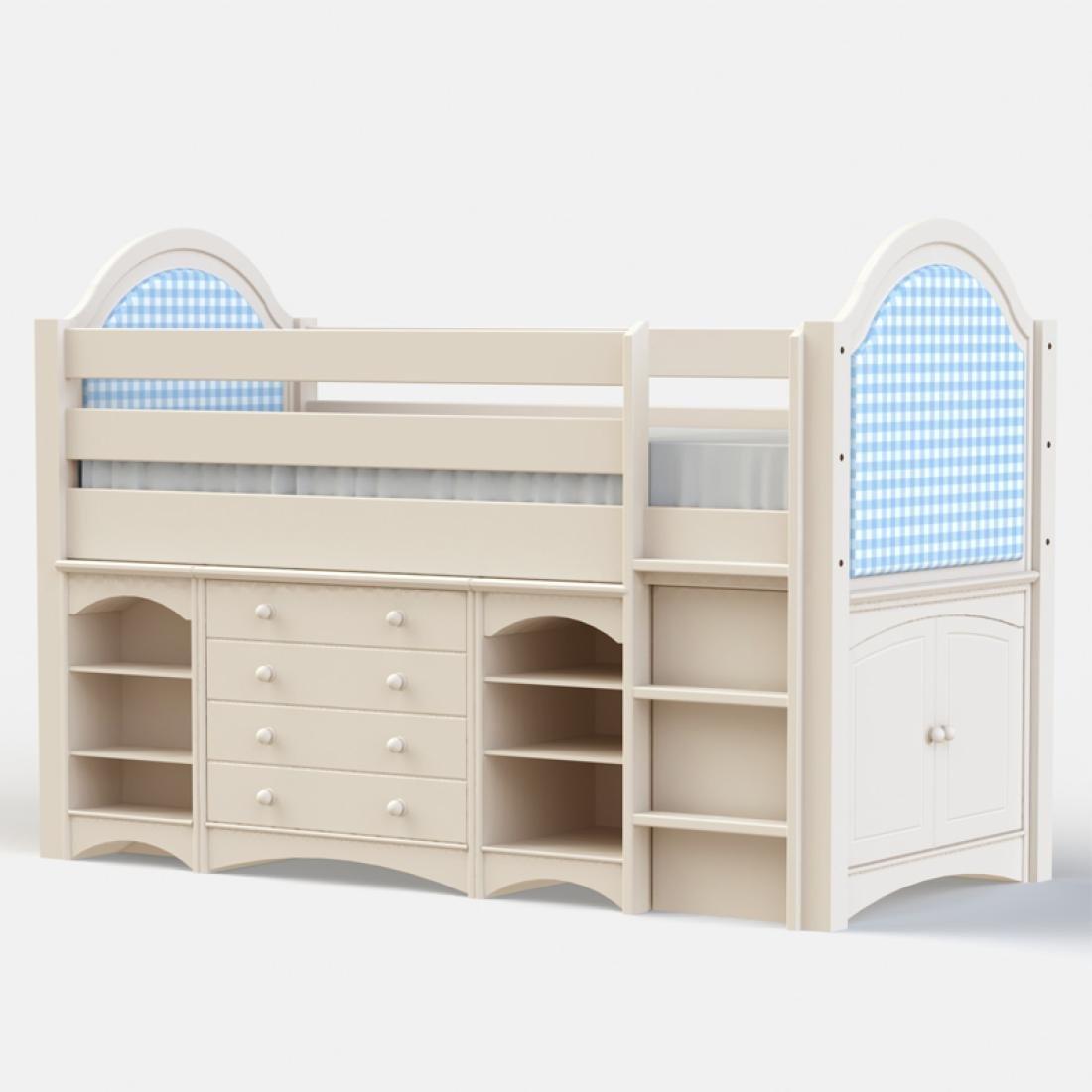 Small Box Room Cabin Bed For Grandma: Sammy Boys Cabin Bed