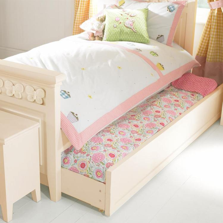 Florence Flutterby Childrens Truckle Bed