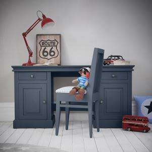 Archie Double Pedestal Desk