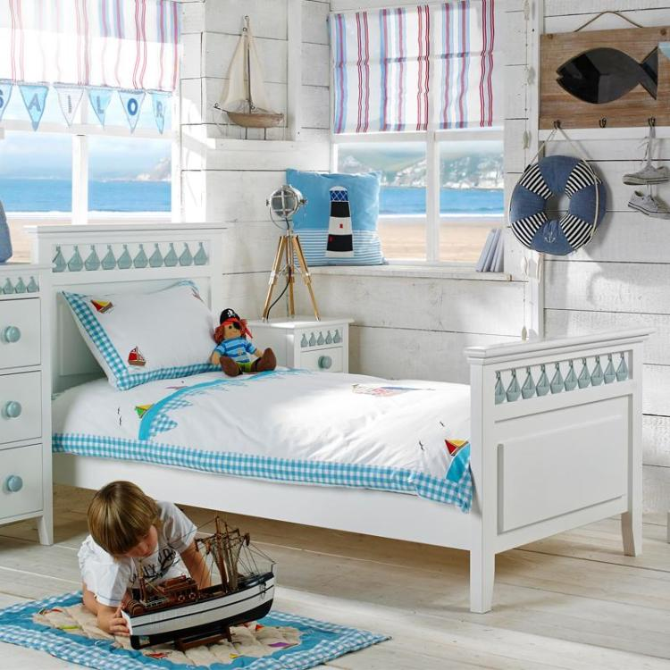 Little Buoy Blue Childrens Bed
