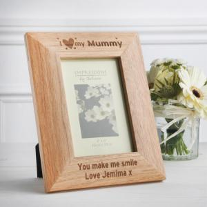 Personalised Oak Frame