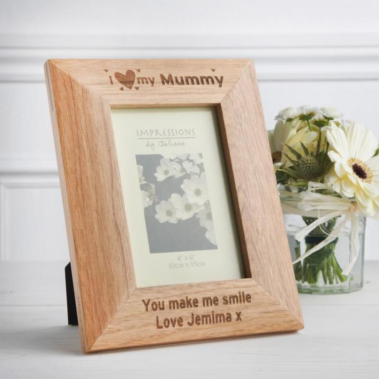 Personalised Oak Frame