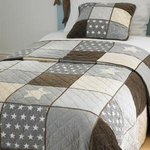 Patchwork Stars Double Bedspread - FLASH SALE - OUT OF STOCK