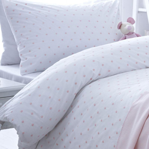 Let your child lie in the lap of luxury with a super soft organic duvet set...
