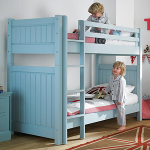 A Little Lucy Willow bunk bed means a sound - and safe - night's sleep.