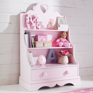Beautiful children's storage for beautiful tidy bedrooms!