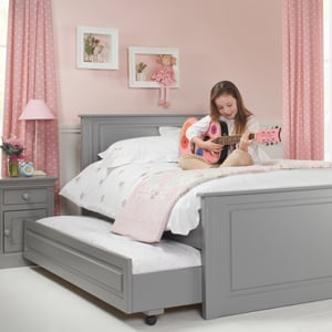 Get sleepover ready with a child's double truckle bed!