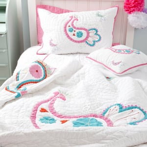 Make sure your child is suitably snug this autumn beneath some gorgeous children's bedding.