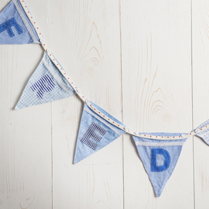 Win Personalised Name Bunting for your child!