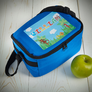 Show me a child who doesn't love a new lunch box. With their name on? Even better!